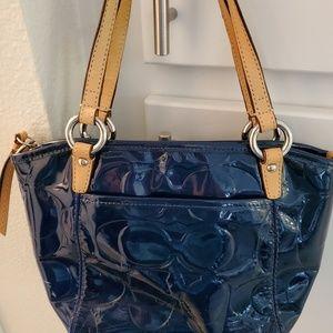 Coach Patent Leather Handbag